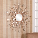 Sun Mirror Wall Decor