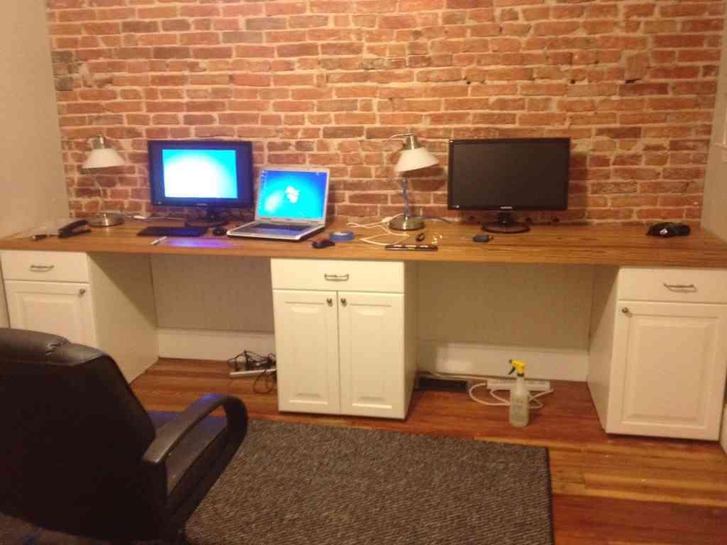 Two Person Corner Desk