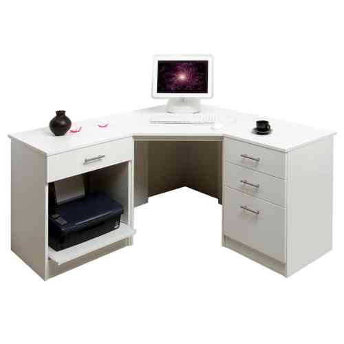 White Corner Desk UK