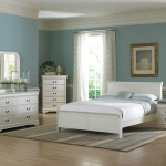 White Full Size Bedroom Set