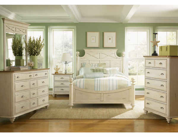 White Furniture Company Bedroom Set
