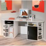White Wood Corner Desk