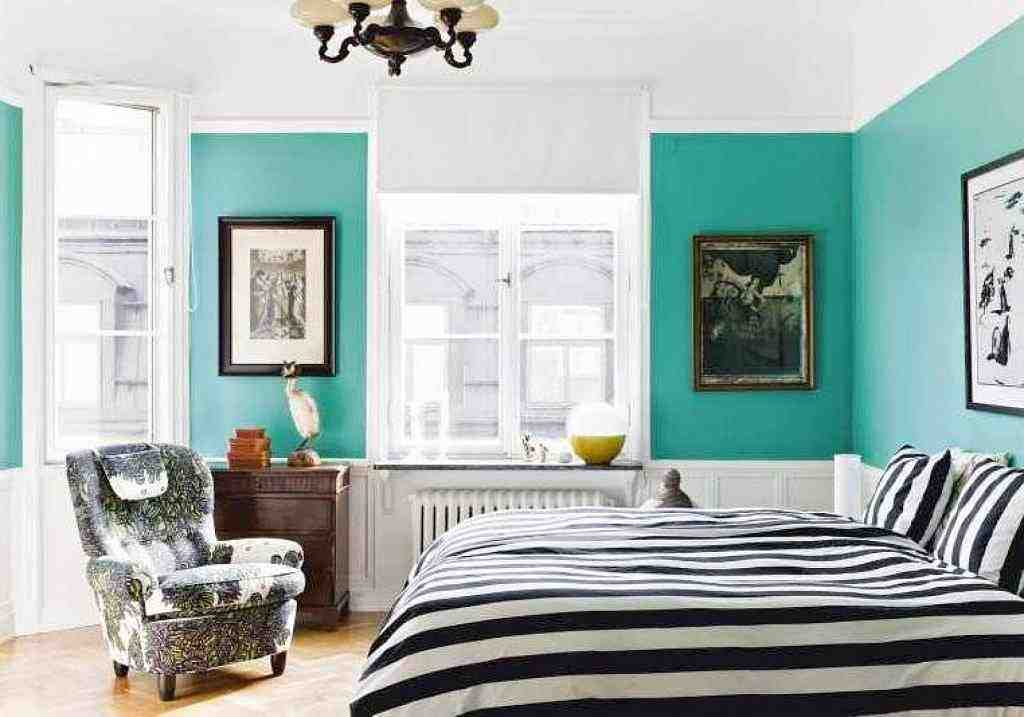 White And Teal Bedroom Decor Ideas