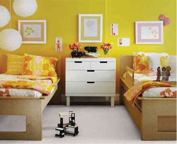 Yellow Bedrooms Pictures
