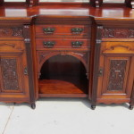 Antique Buffet Cabinet
