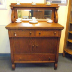 Antique OAK Sideboard Buffet