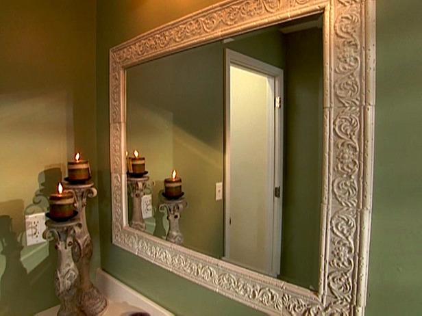 Bathroom Mirror Trim Kit
