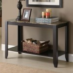 Black Entryway Table