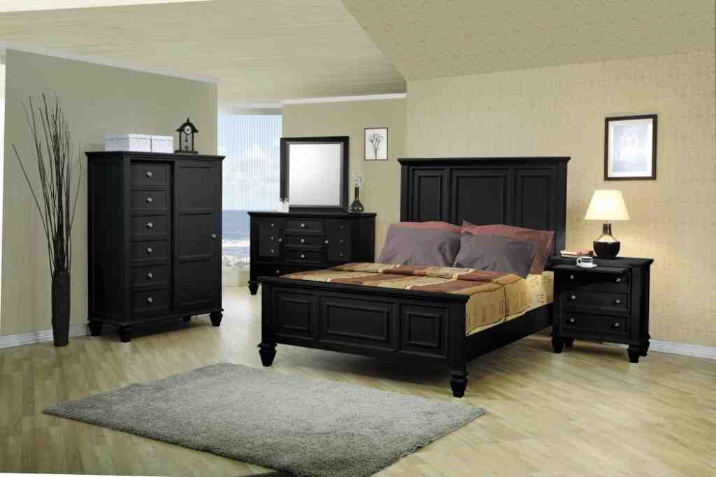 Black King Bedroom Furniture Sets