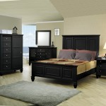 Black King Bedroom Furniture Sets