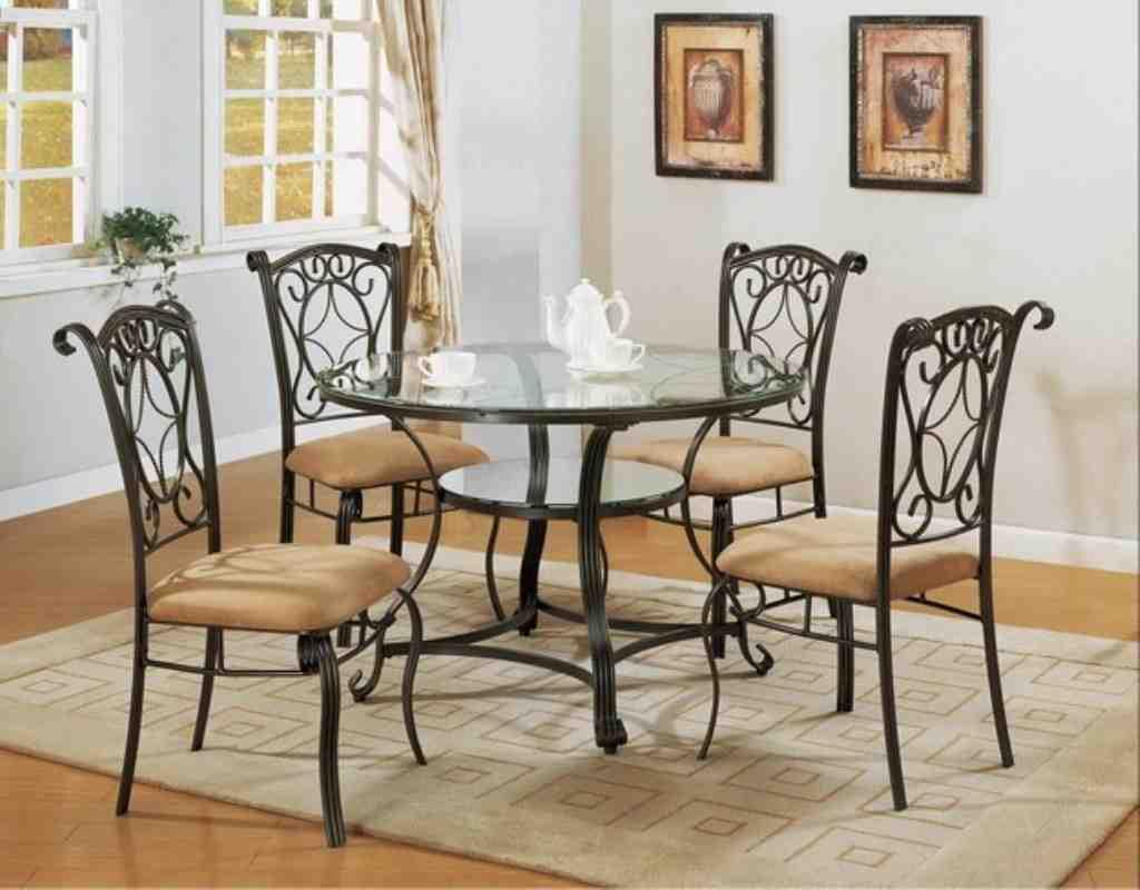 Black Metal Dining Room Chairs - Decor Ideas