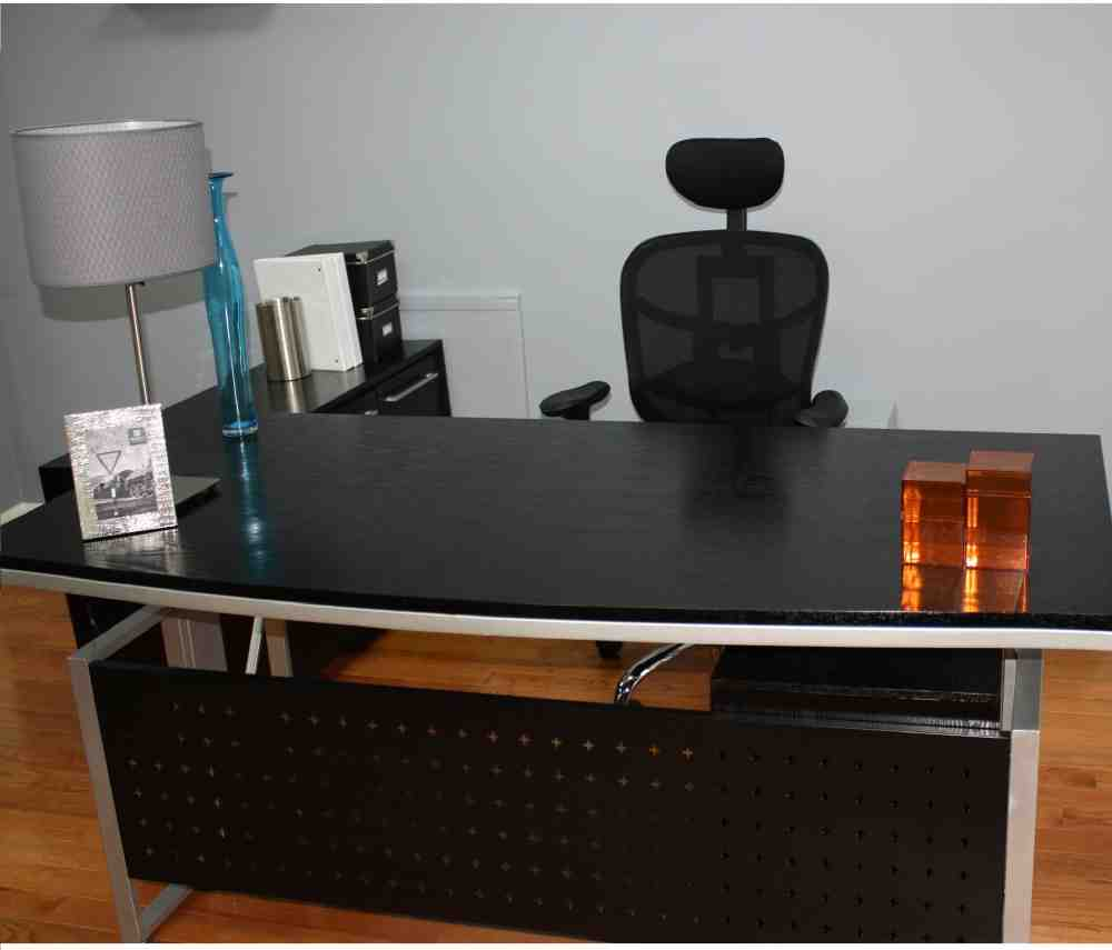 Black Office Desk Furniture