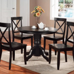 Black Wood Dining Room Chairs
