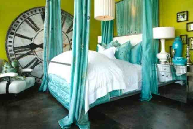 Blue and Green Bedroom Ideas