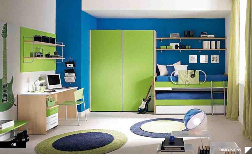 Boys Green Bedroom