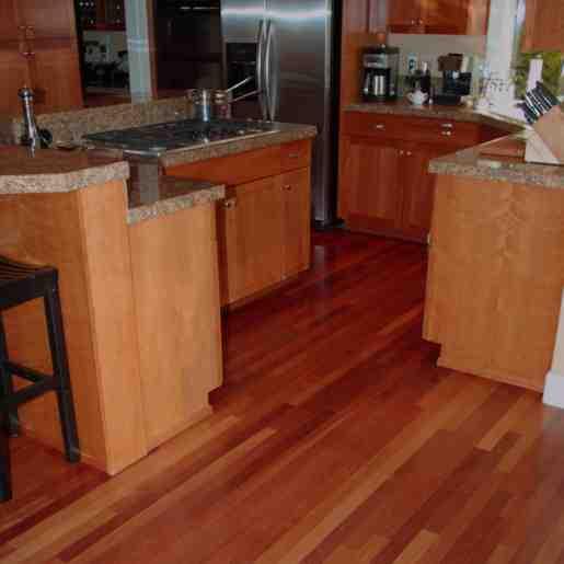 Brazilian Cherry Bamboo Hardwood Flooring