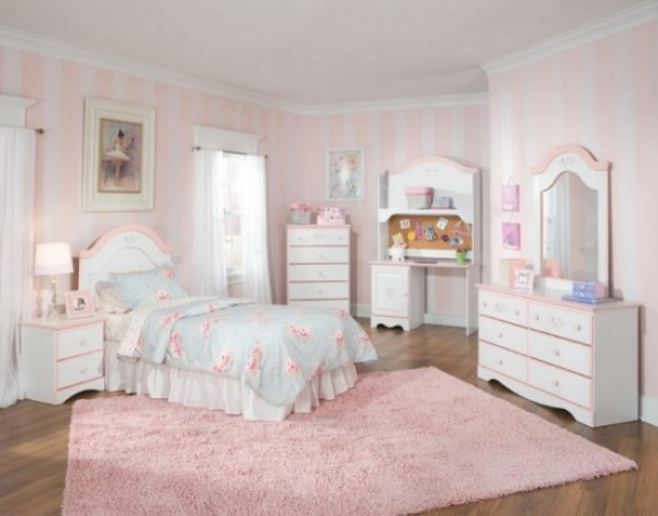 Childrens White Bedroom Furniture