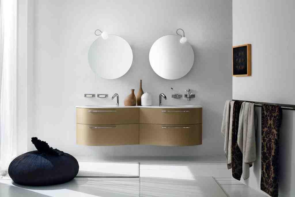 Circular Bathroom Mirror