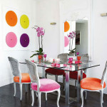 Colored Dining Room Chairs