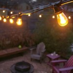Commercial Outdoor Patio String Lights