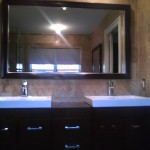 Custom Framed Bathroom Mirrors