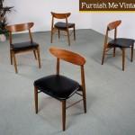 Danish Modern Dining Room Chairs