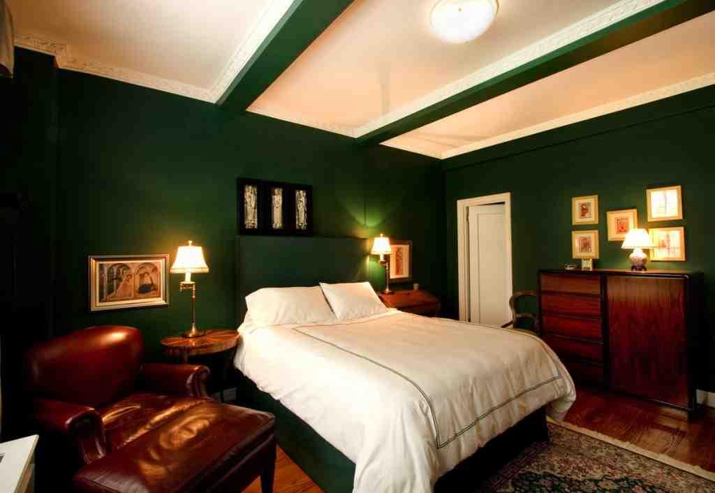 Dark Green Bedroom Ideas