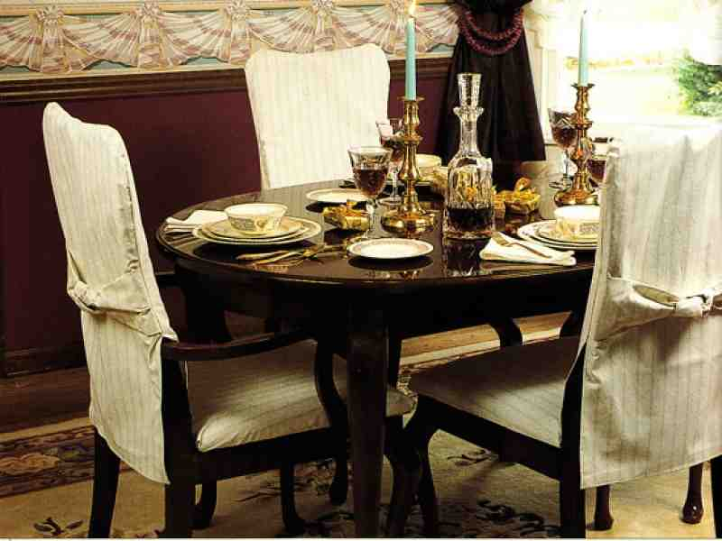 Dining Room Chair Covers with Arms Decor Ideas