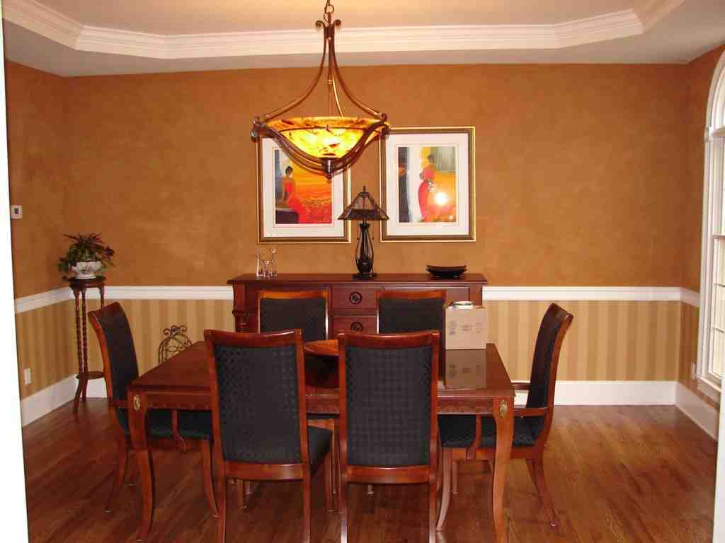 Dining Room Chair Rail Ideas - Decor Ideas