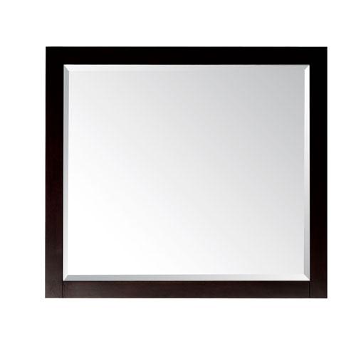 Espresso Bathroom Mirror