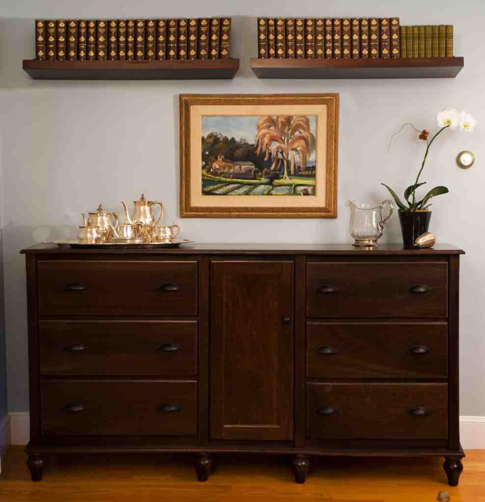 Espresso Buffet Cabinet
