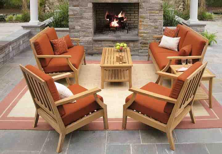 Furniture Outdoor Patio Teak