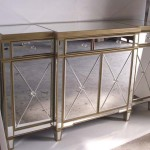 Glass Buffet Cabinet
