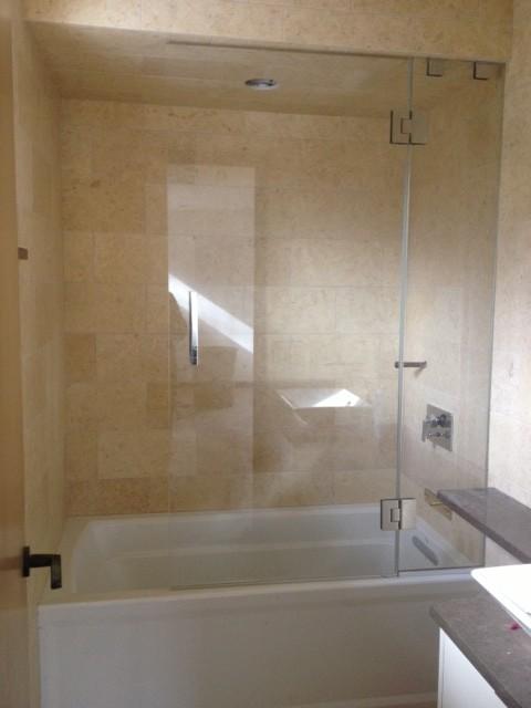Glass Shower Doors for Tubs Frameless