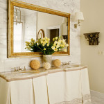 Gold Bathroom Mirror
