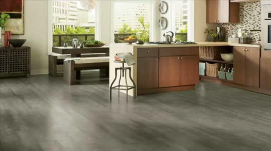 Gray Laminate Wood Flooring