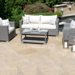Gray Wicker Outdoor Furniture