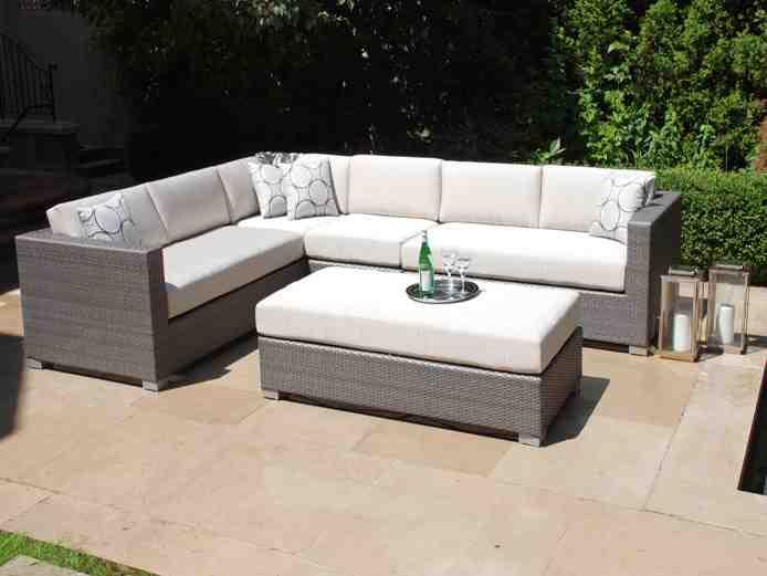 Grey Wicker Outdoor Furniture Decor Ideasdecor Ideas