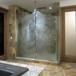 Heavy Glass Shower Door