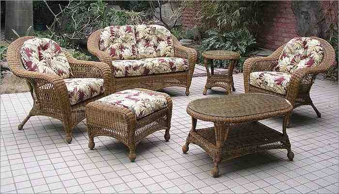 Indoor Outdoor Wicker Furniture Sets