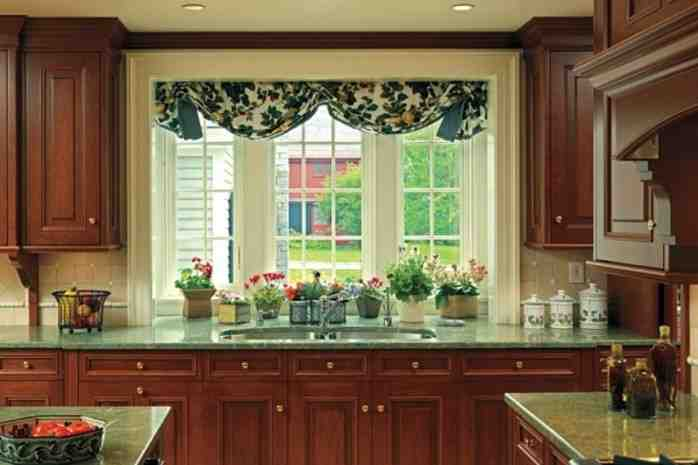 Large Kitchen Window Treatment Ideas