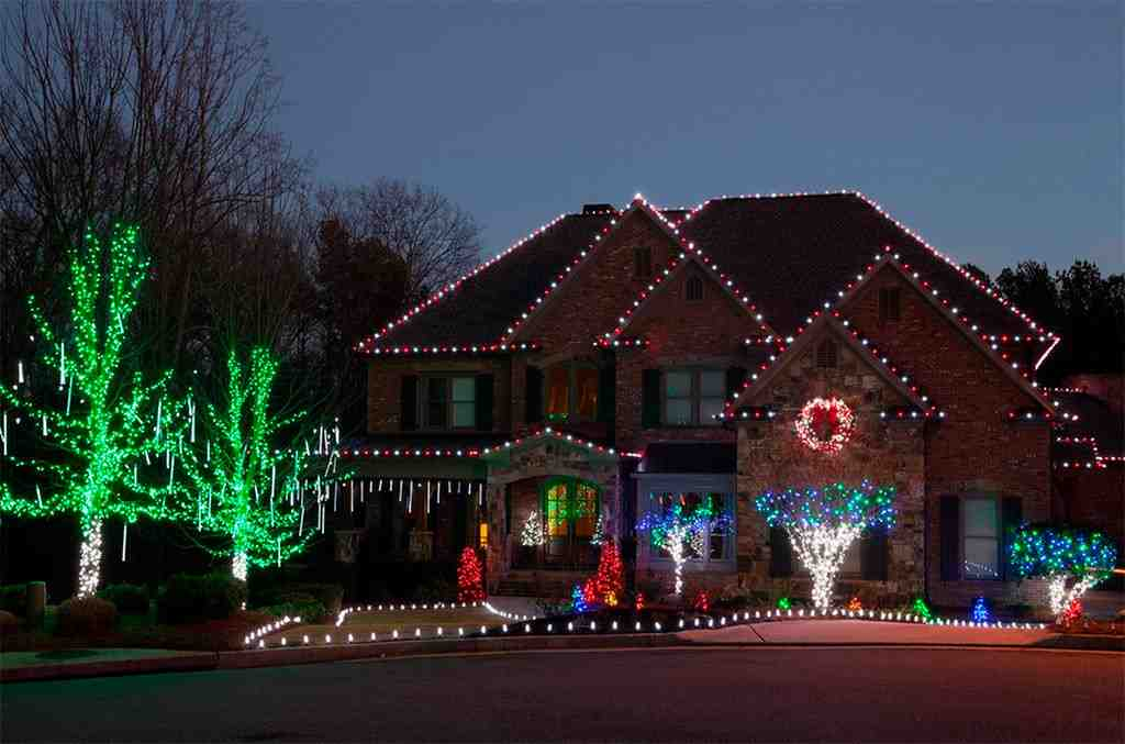 Led Tree Lights Outdoor