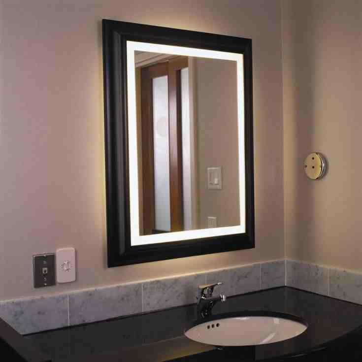 Lighted Bathroom Wall Mirrors