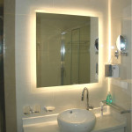 Lit Bathroom Mirror