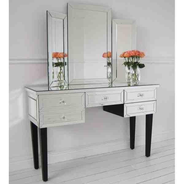 Mirrored Desk Furniture