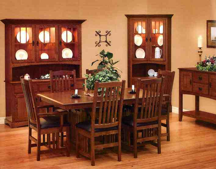 Mission Style Dining Room Chairs