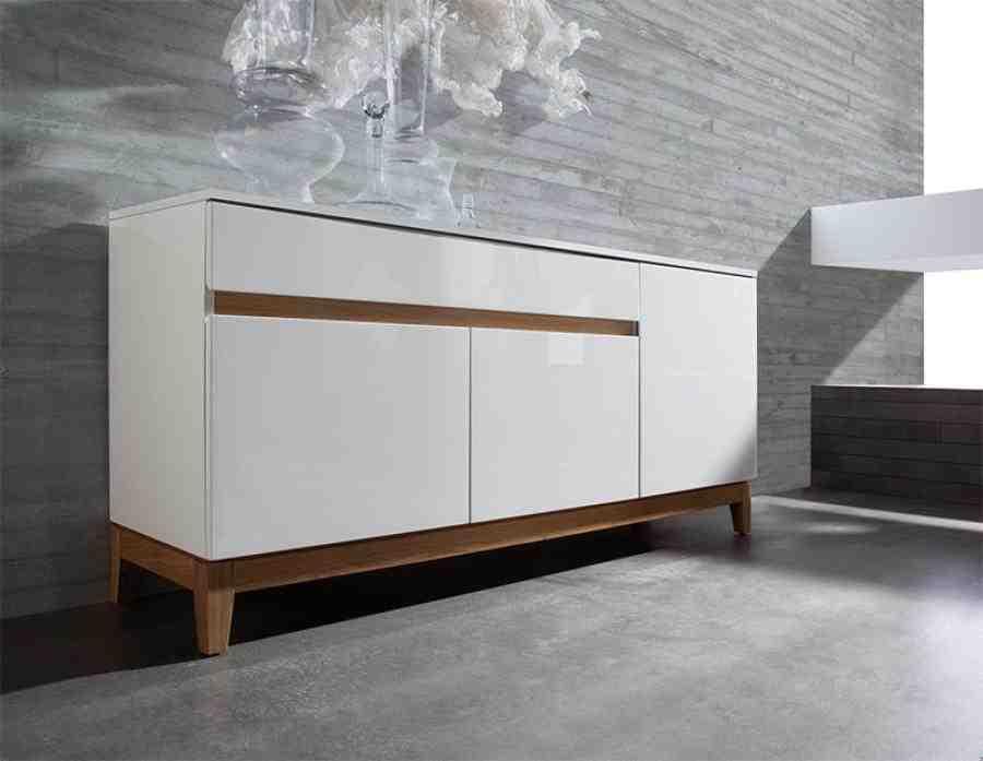 Modern White Sideboard
