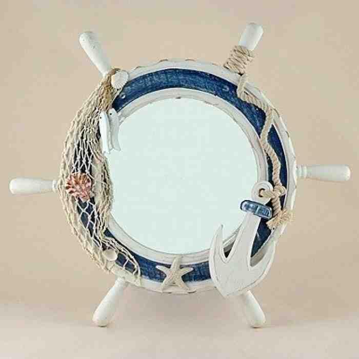 Nautical Bathroom Mirror Decor Ideas