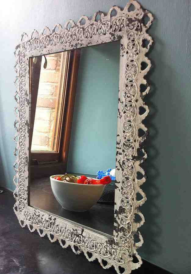 Ornate Bathroom Mirrors