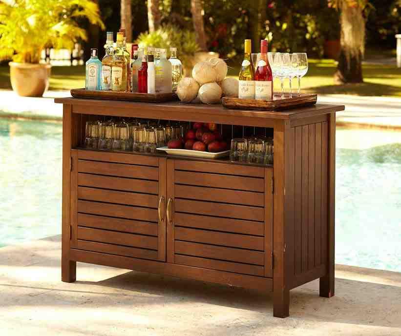 Outdoor Buffet Cabinet